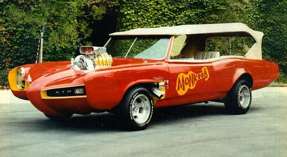 Monkee mobile -maybe the most famous of all GTO's?