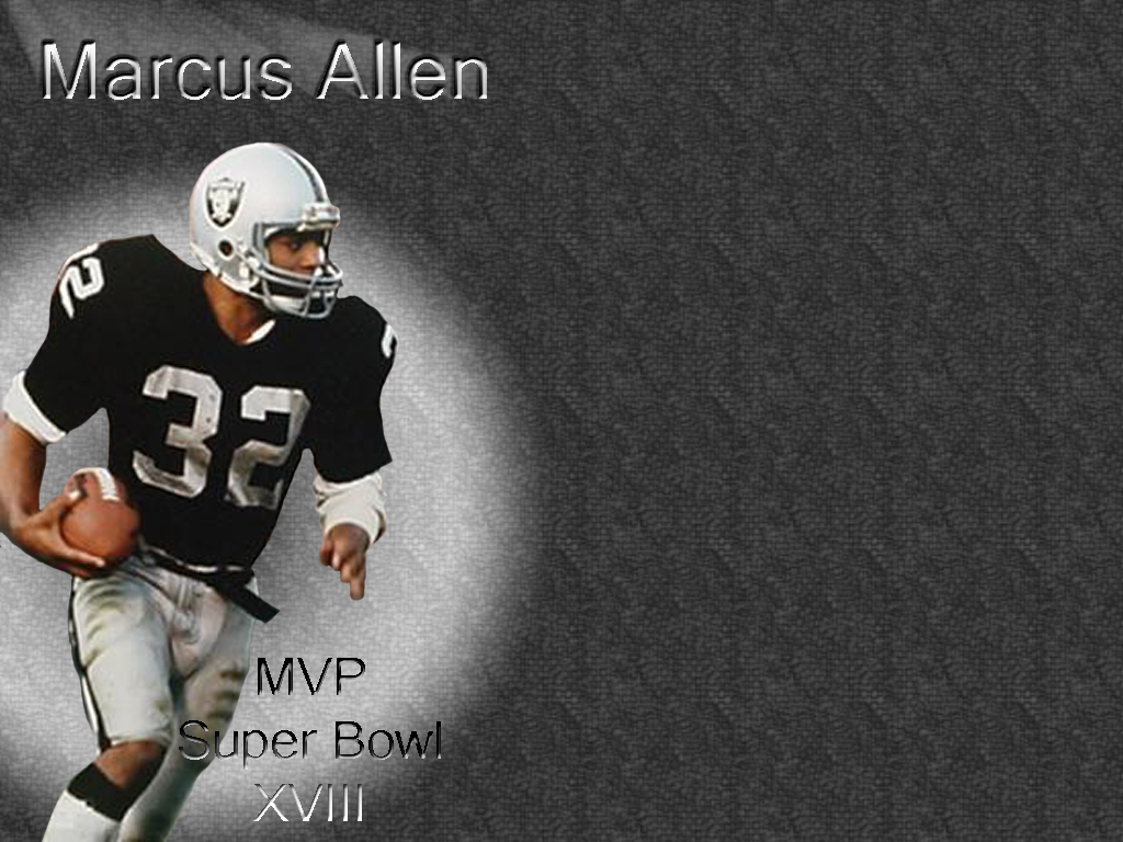 Lester Allen Wallpapers Marcus Allen Wallpaper