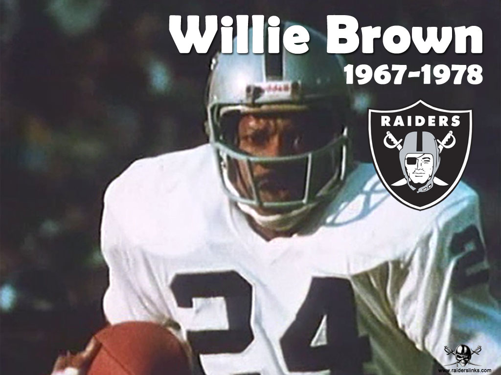 willie brown of the raiders